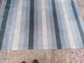 Large Dunelm rug 230x160cms. Light use only
