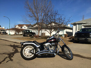 Customized Softail FXST Strathcona County Edmonton Area image 2
