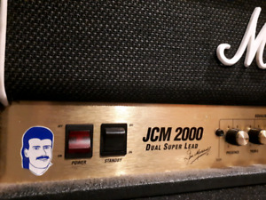 JCM 2000 for sale with road case