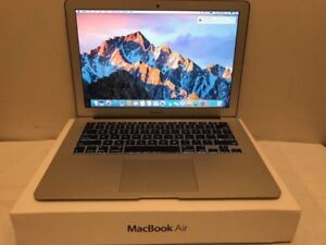 Macbook Air 13in Intel Core i7 500gb Storage