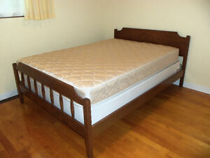 Double Bed and/or mattress