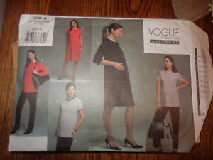 Patrons de Maternité / Maternity Patterns Vogue & Butterick