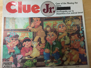 Clue Jr. Case of the Missing Pet from Parker Brothers