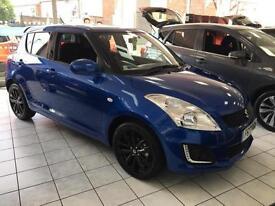 2017 Suzuki Swift 1.2 SZ-L [Nav] 5dr Petrol blue Manual