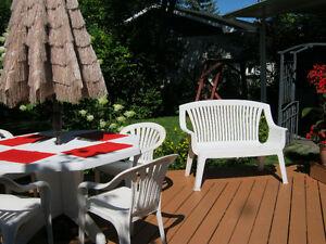 Meubles de patio. Saguenay Saguenay-Lac-Saint-Jean image 1