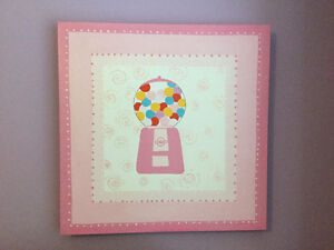 Wall hanging for girls room!