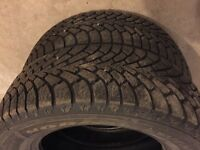 Two Goodyear Nordic Winter 225/65r16 - Excellent Condition !!!