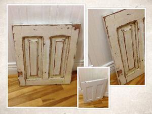 Superbe Panneau d'armoire patine antiquer #604