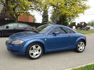 2001 AUDI TT 1.8T 225 HP 6 SPEED MANUAL QUATTRO LEATHER NAVI