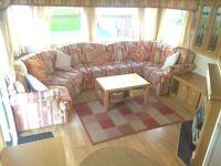Lovely private sale static caravan for sale in Morecambe bargain price 12 month park Nr lakes sea