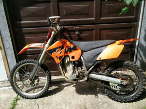 2004 Ktm 525 EXC, full cross,Rekluse