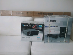 HAUSS media home theater package new unopen boxes