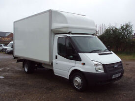 2013 13 Ford Transit 125PS 350EF 6 Speed GRP Luton Tail Lift
