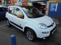 2014 14 FIAT PANDA 0.9 TWINAIR 4X4 ANTARCTICA IN WHITE # RARE CAR ONE OWNER #