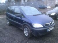 Vauxhall/Opel Zafira 1.6i 16v 2004MY Club