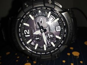 CASIO G-SHOCK SKY COCKPIT GPW-1000T-1AJF Titanium Bezel
