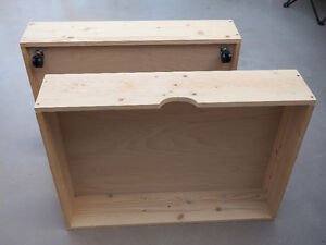 SOLID WOOD DRAWERS TO USE UNDER BED OR AS PLANTERS