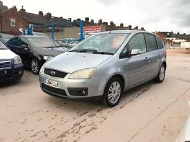 2004/54 Ford Focus C-MAX 1.6 TDCI 110 GHIA 3 OWNERS SERVICE HISTORY 1 YEAR MOT