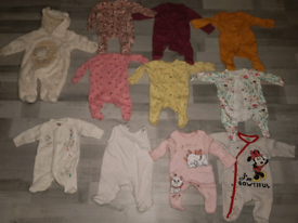 Baby Girl Clothes Bundle. New Born and 1 month up. Excellent condition