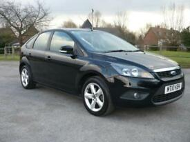Ford Focus 1.6 ( 100ps ) 2010. Zetec metalic black