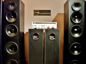 nuance Mega Passive Tower Speakers