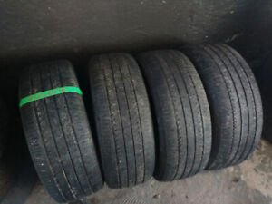 Four 205 60 16 all season tires .  Or pairs