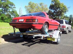 Seatrail Car Tilt Trailer,ATM 1680kg. GALVANISED FRAME Sydney City Inner Sydney Preview