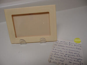 FRENCH IVORY (celludoid) PICTURE FRAME