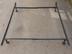 Bed Frame - Metal  (Size Adjustable) $30.00