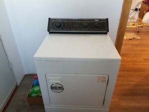 Old washer and dryer