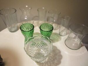 Flower Vases and Planters (2 lots available) Only $10 Each Lot