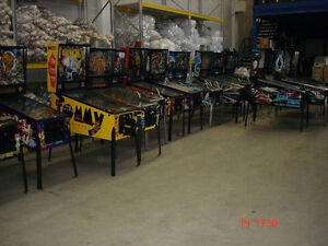 Achete machine a boules,pinball ,arcade, fonctionnel ou non