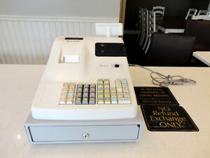 Sharp XE-A155 Retail Cash Register - Works Perfectly Kitchener / Waterloo Kitchener Area image 1