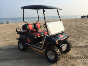 Updated 36 Volt Club Car Golf Cart (4 seater)