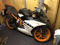 '65-plate KTM RC390, FDSH, A2 license (alt to R3, CBR, Ninja)