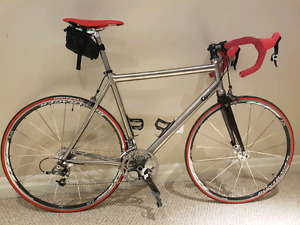 DNA full Titanium frame, SRAM components, Race/Road Bike