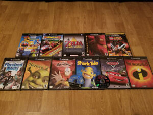 GAME CUBE WITH GAMES PRICED SEPARAETLY
