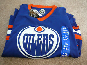 Youth Oilers Jersey L-XL (14-20) *NEW*