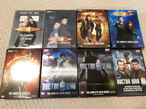 Doctor Who Series 1-6 + specials DVD