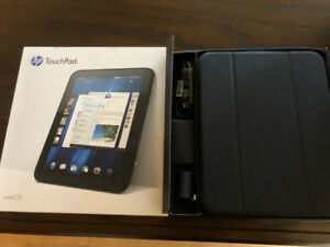 HP Touchpad , 32GB, WIFI- WebOS   tablet  , not working , AS IS