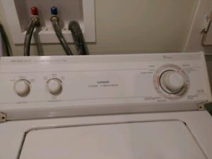 Laundry washing machine and dryer