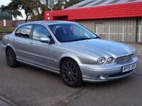 2006 (06) Jaguar X-TYPE 2.2d Sport saloon Diesel *full leather and Sat Nav*