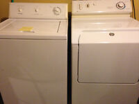 Frigidaire Crown Series Washer/ Maytag Intellidry Dryer