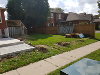 Wanted: 5 of  6x6x10 fence poles dig,pour and set