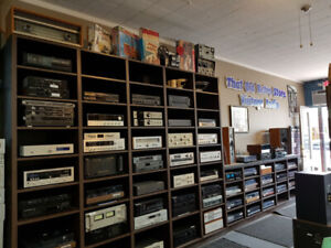 Turntables, Amplifiers, Speakers, Receivers and More