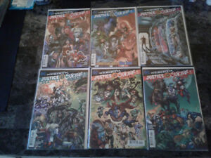 Justice League vs Suicide Squad limited series DC COMICS