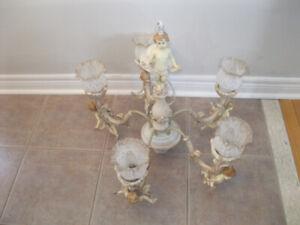 Nice Original Ceramic Chandelier with Seven Angels