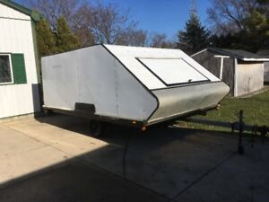 12 Foot Double Snowmobile Trailer