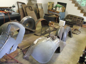1935 McLaughlin Buick for sale Plus 1934 complete parts car