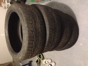 Winter Tire set - Cold Lake Edmonton Edmonton Area image 1